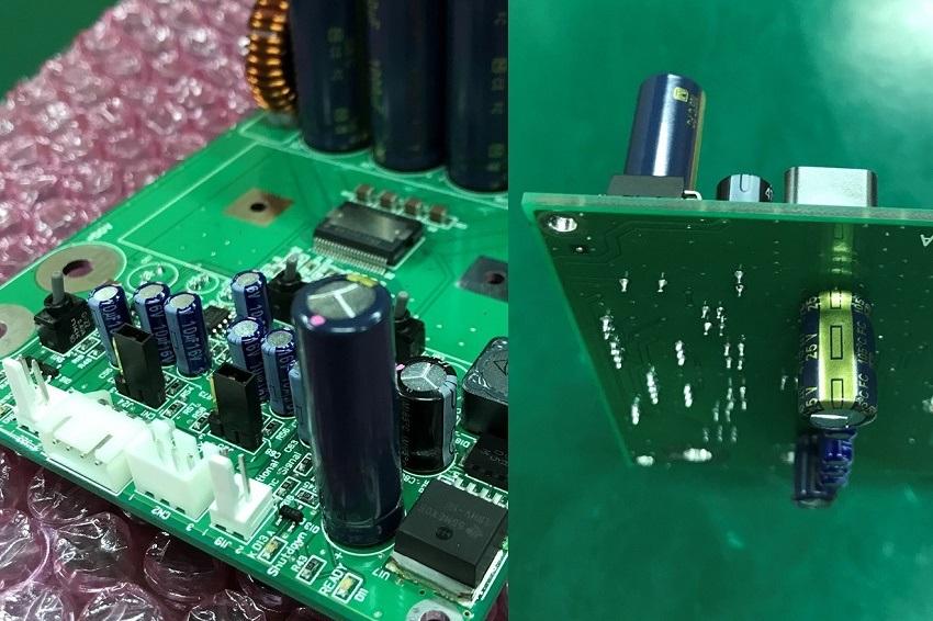 ステレオパワーアンプ回路