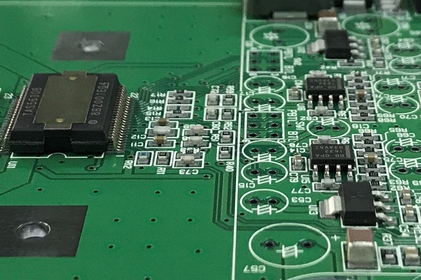 実装基板10284 ステレオパワーアンプ回路