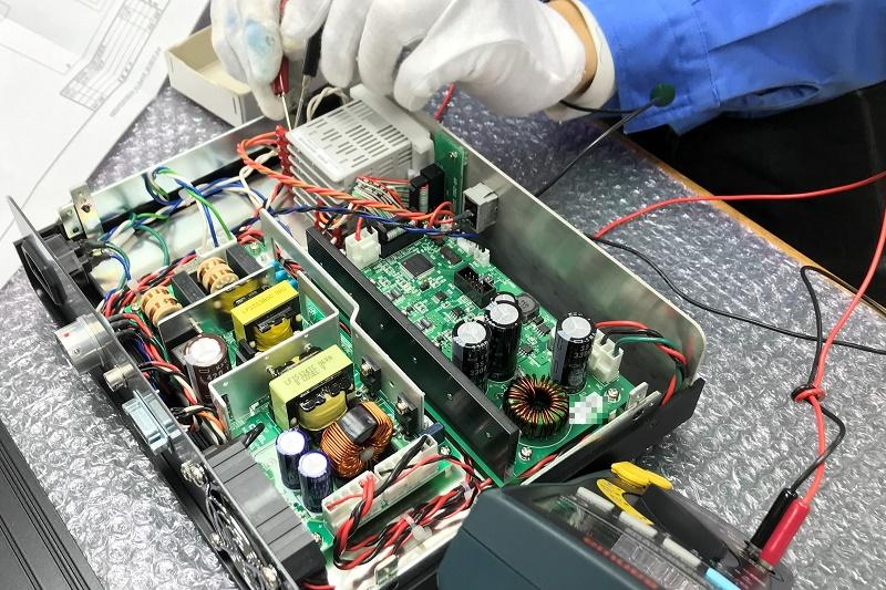 ペルチェ素子制御回路基板