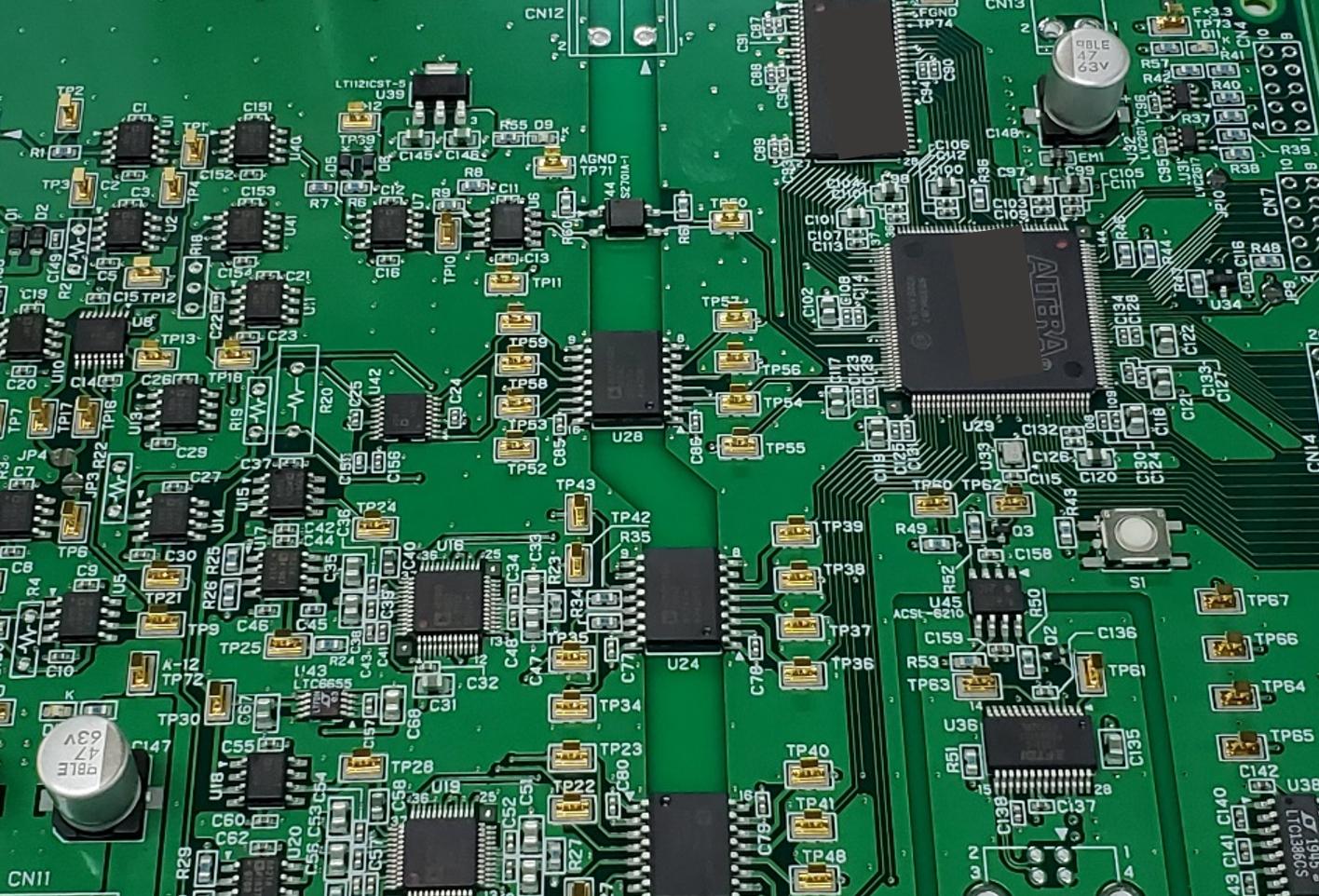 FPGAコントローラ基板(シュミットトリガ)