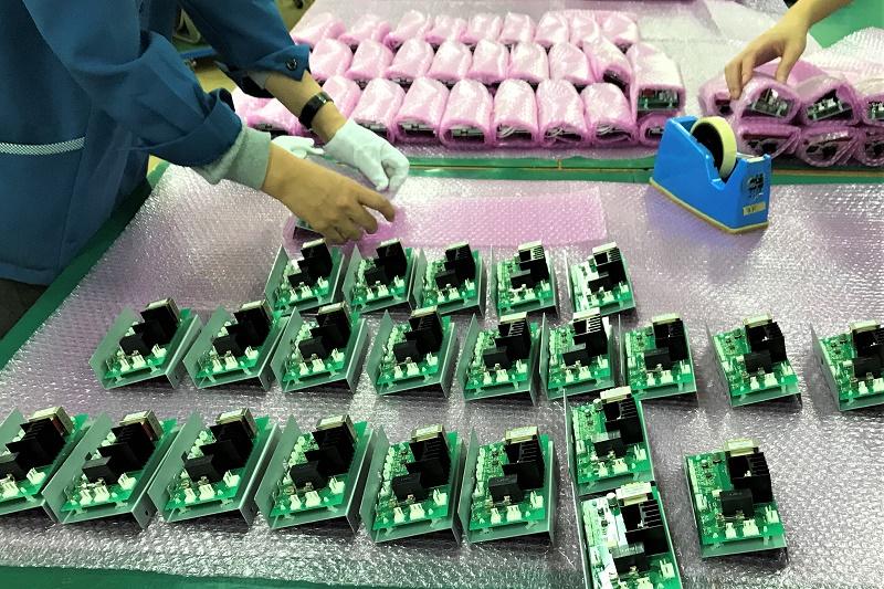 電源回路基板(出荷準備)