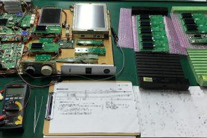 LCDディスプレイ検査治具