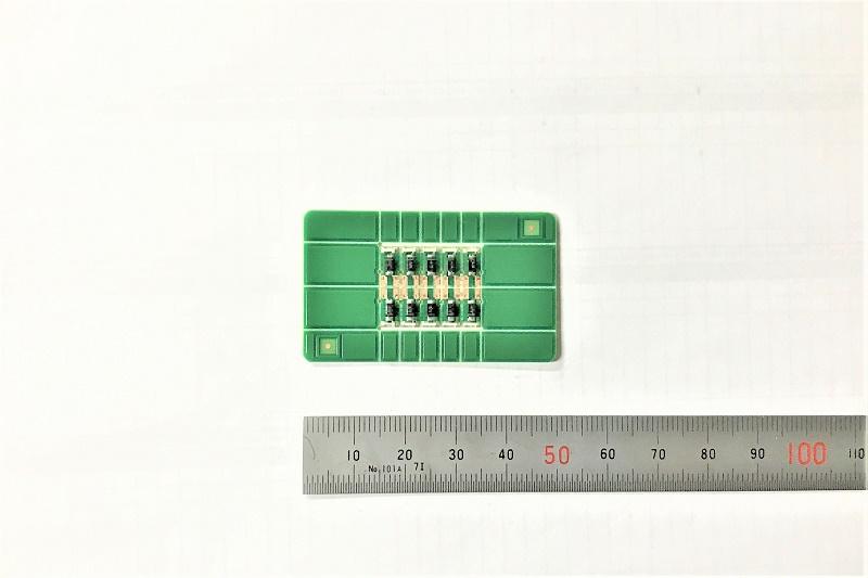 超ミニサイズの試作用基板製作