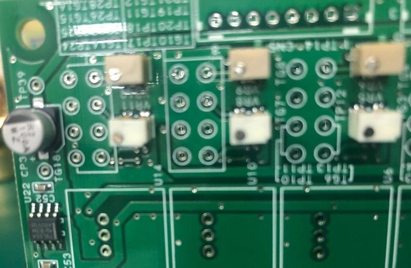 DCP0115DBP搭載 A面実装基板