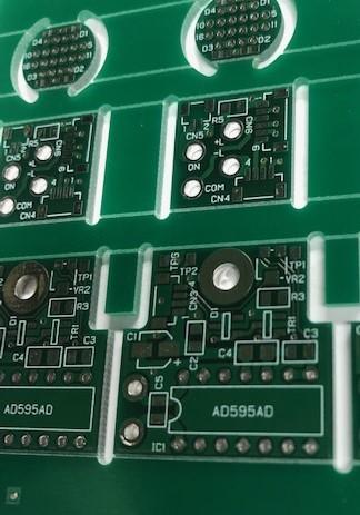 アナログ回路基板実装