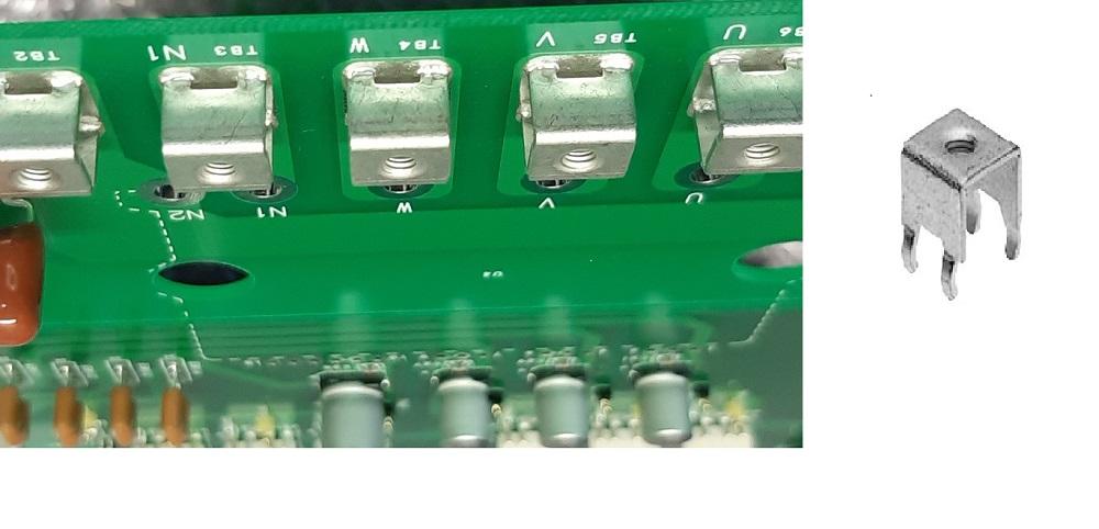 電力型基板実装ターミナル