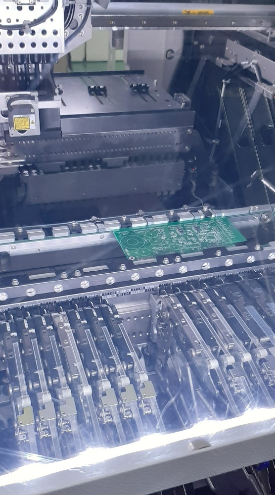 電力DC200W系制御基板実装