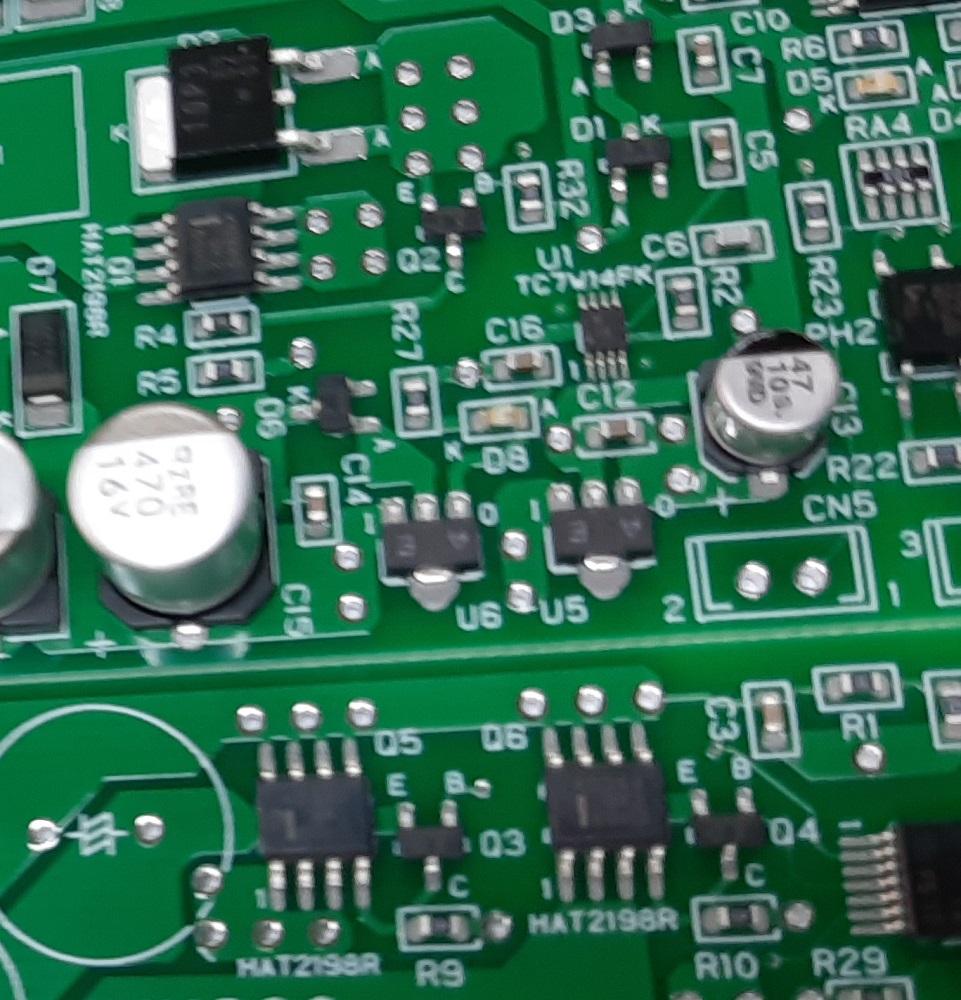ワンチップ制御基板実装